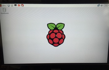 Raspberry Pi Welcome Screen